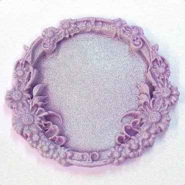 Floral Lace Miniature Frames - Cupcake Decorating Silicone Mould