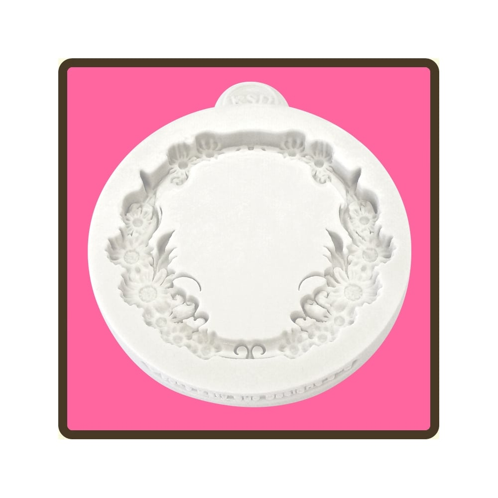 Floral Lace Cupcake Decorating Silicone Mould By Katy
