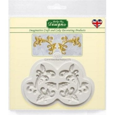 Leaf Flourish - Cake Decorating Silicone Mould