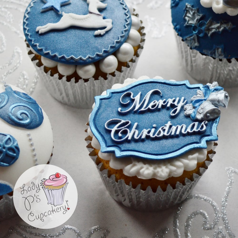 Cake Decorating Questions : Merry Christmas - Mini Plaque - Cake Decorating Silicone ...