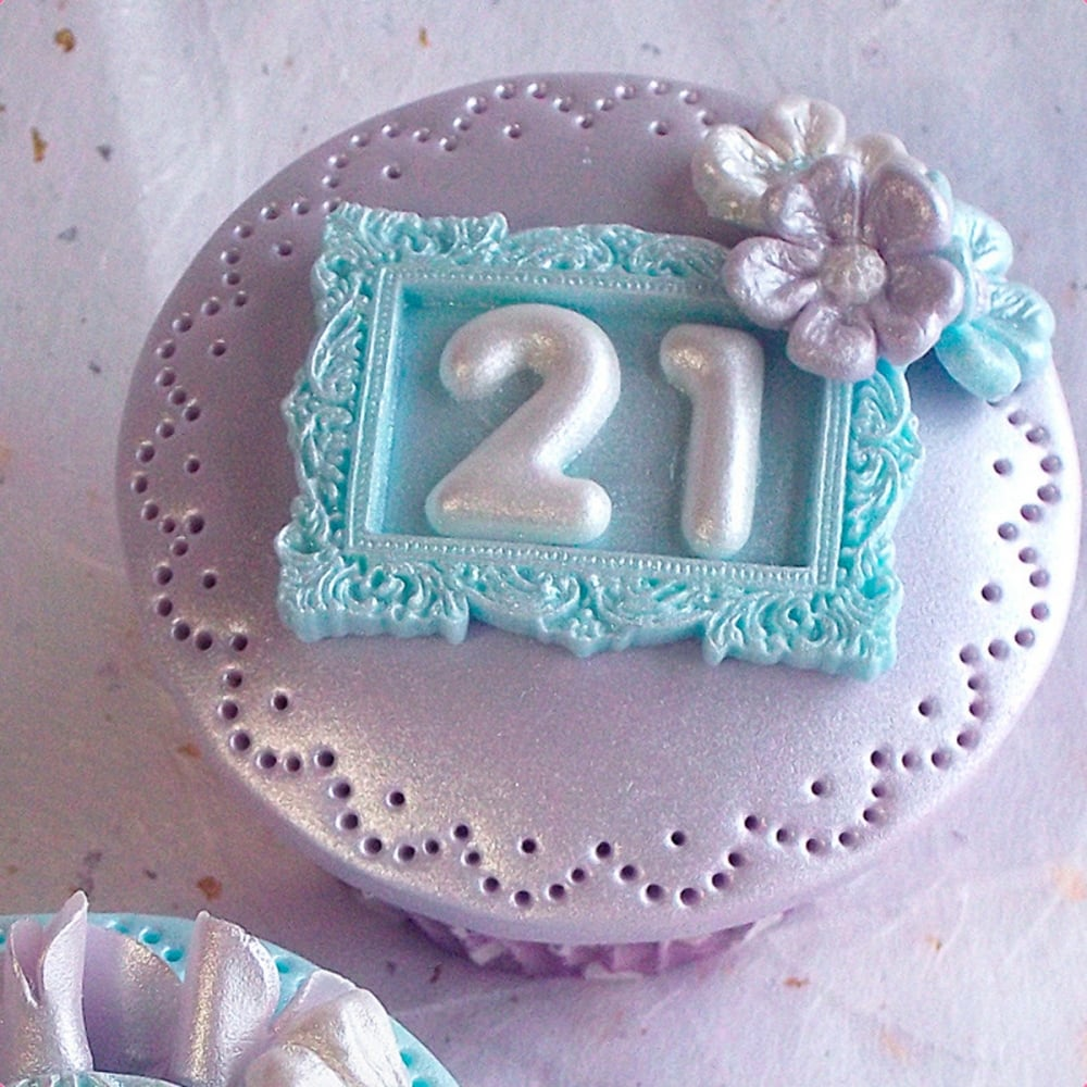 Miniature Frames Cake Decorating Silicone Mould By Katy