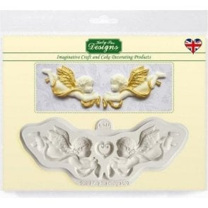 Ornamental Cherubs - Cake Decorating Silicone Mould
