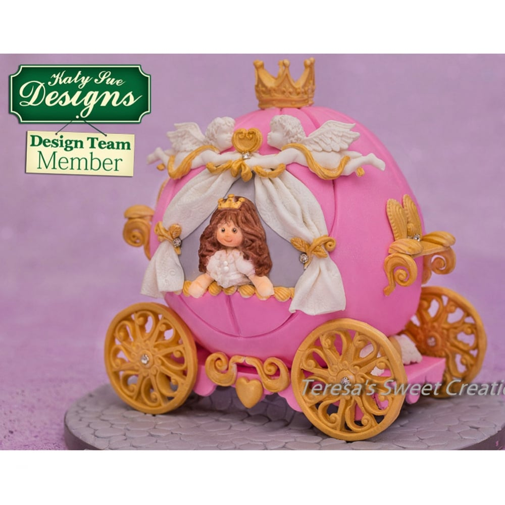 Prince & Princess Crowns - Cake Decorating Silicone Mould ...