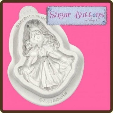 Princess - Cake Decorating Silicone Mould