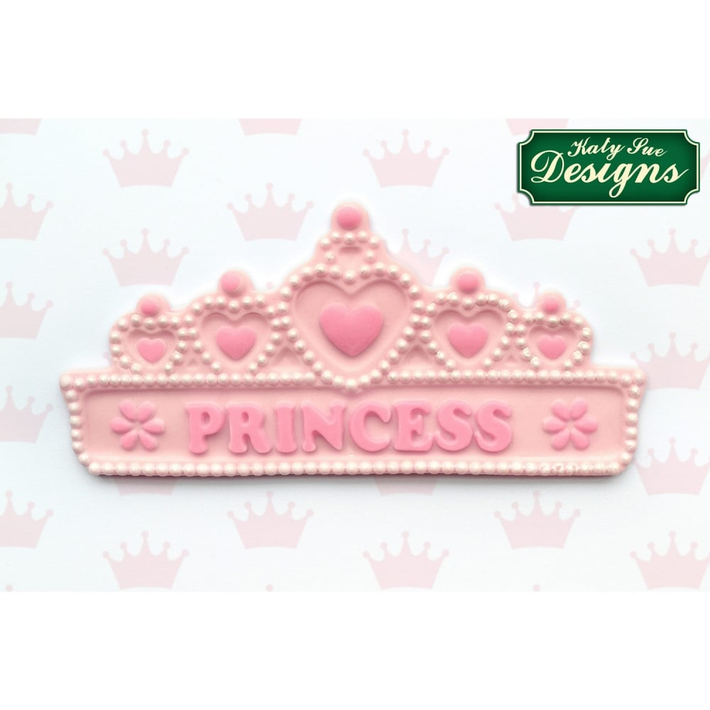Cake Decorating Questions : Princess Tiara - Cake Decorating Silicone Mould by Katy ...