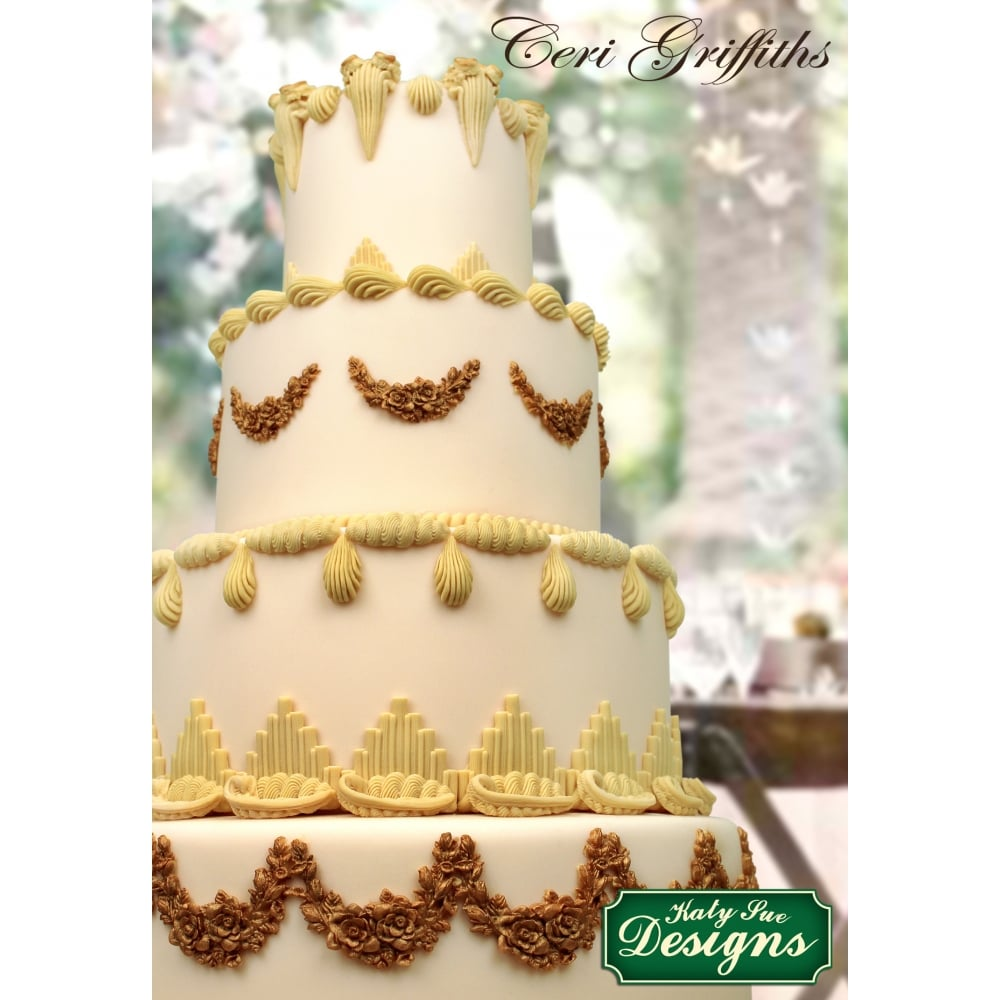 Creative Cake Decorating Gold Dust