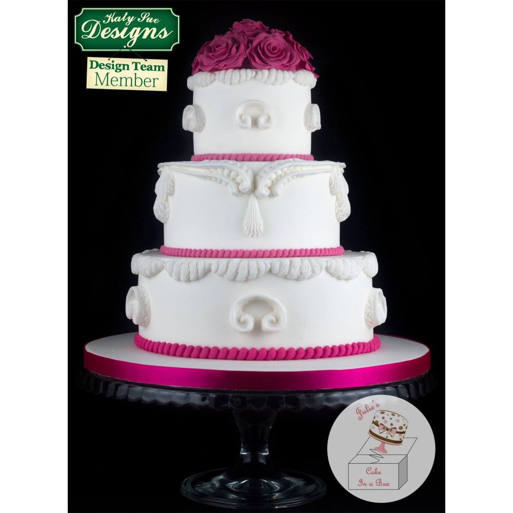 Cake Decorating Questions : S SCROLLS - Creative Cake System? Cake Decorating Silicone ...