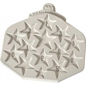 Star Number - Cake Decorating Silicone Mould