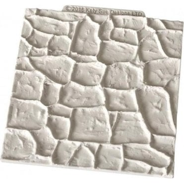 Stone Walls/Path - Cake/Cupcake Decorating Silicone Texture Mat