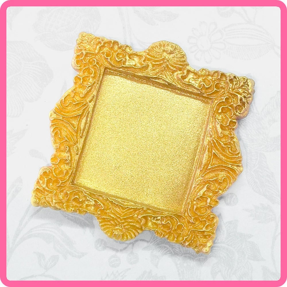 Miniature Frames Cake Decorating Silicone Mould by Katy Sue Designs