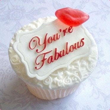 Your'e Fabulous - Mini Plaque - Cake Decorating Silicone Mould