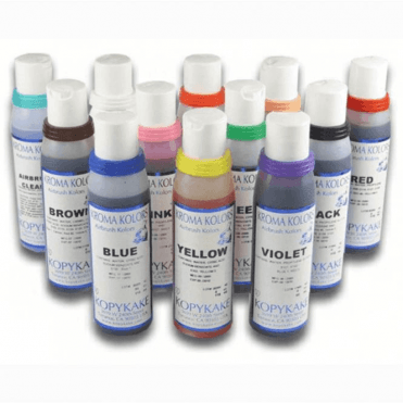 Kroma Kolors Airbrush Colours - Kit of 12