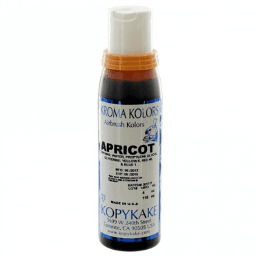 Apricot - Kopykake Airbrush Colour - (118ml/4oz)
