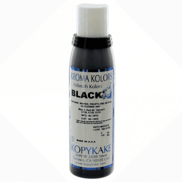 Black - Kopykake Airbrush Colour - (118ml/4oz)