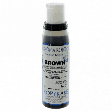 Brown - Kopykake Airbrush Colour - (118ml/4oz)