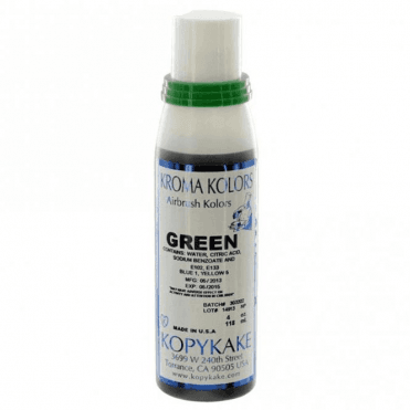 Green - Kopykake Airbrush Colour - (118ml/4oz)