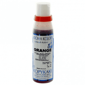 Orange - Kopykake Airbrush Colour - (118ml/4oz)