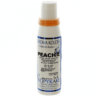 Peach - Kopykake Airbrush Colour - (118ml/4oz)