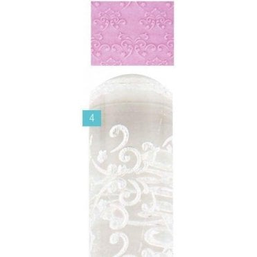Fleur Designer Impression Crystal Clearpress™ Embossing Rolling Pin