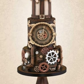 THE SPECTACULAR STEAMPUNK CAKE