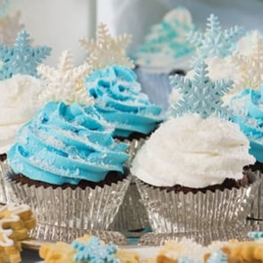 CHOCOLATE, COCONUT, CHRISTMAS CUPCAKES