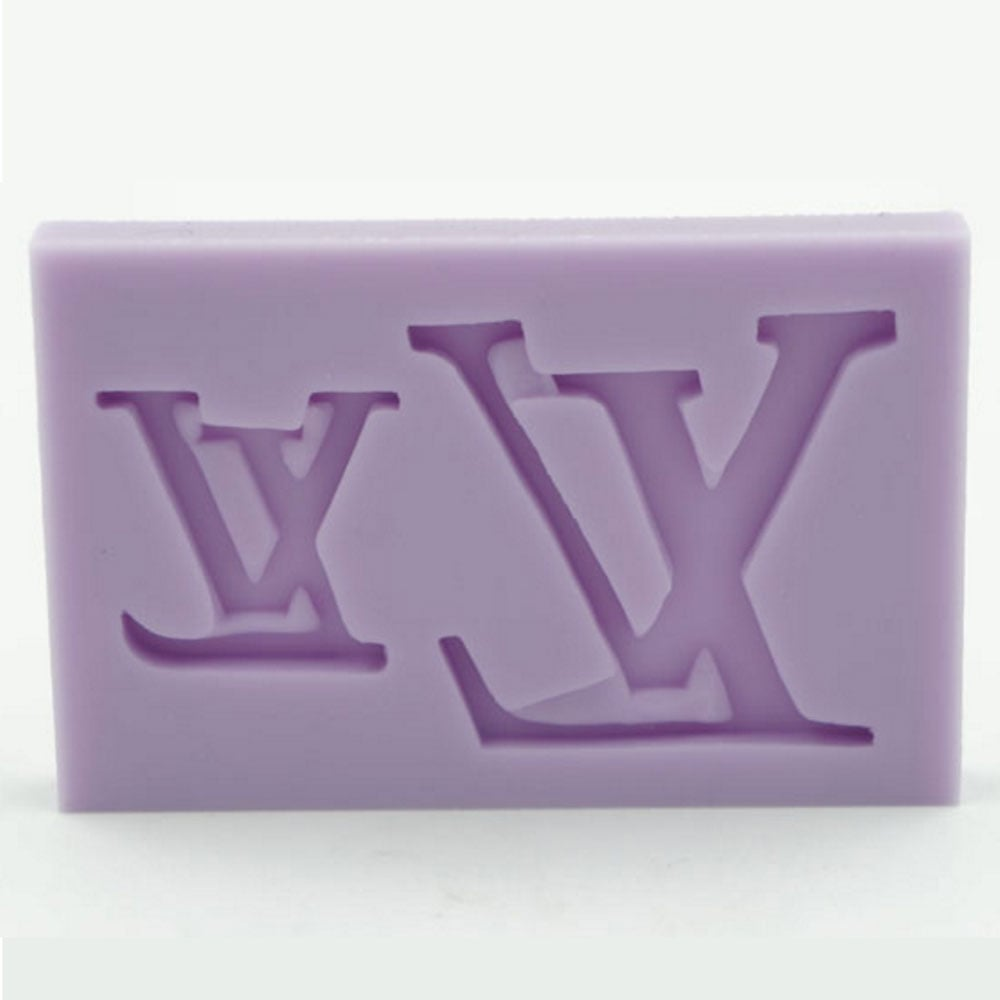 9417863ad2ab Louis Vuitton Logo - Cake Decorating Silicone Mould