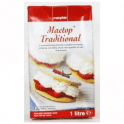 Macphie Mactop® Traditional Fresh Cream 1 Litre - Pipes 75 - 90 cupcakes