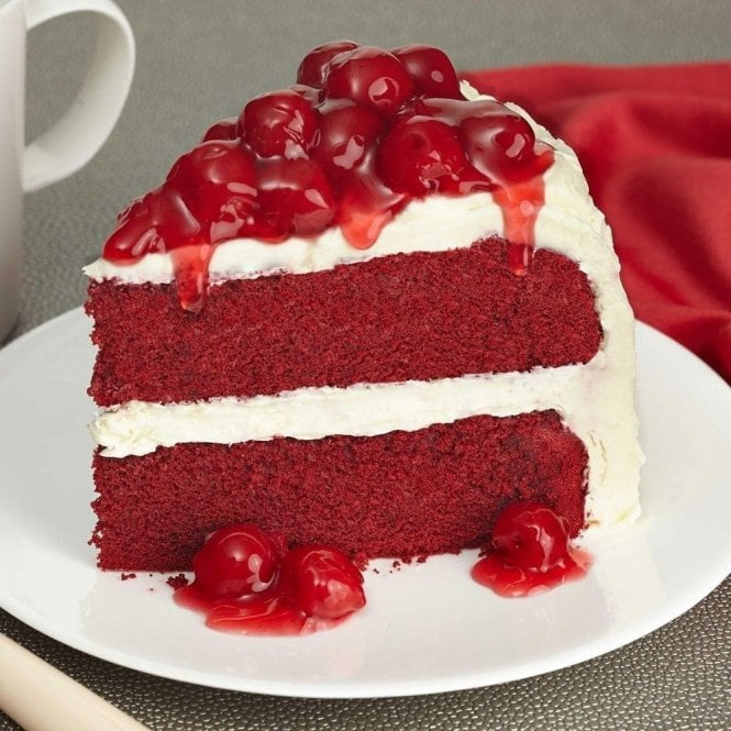 Macphie Red Velvet Classic American Cake Mix 1kg