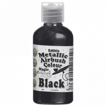 Black - Metallic Airbrush Colour (55ml)