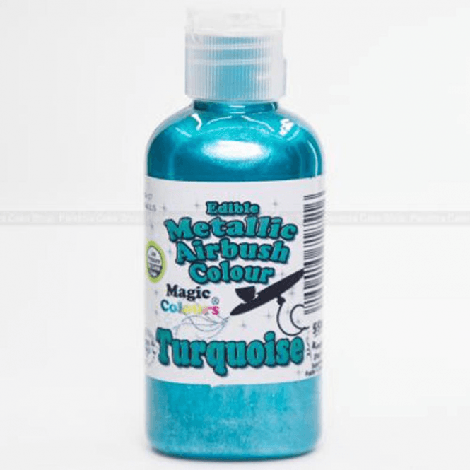 Magic Colours Turquoise - Metallic Airbrush Colour (55ml)