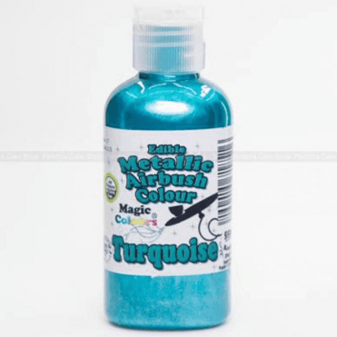 Turquoise - Metallic Airbrush Colour (55ml)