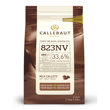 Milk Chocolate Chips (callets) 2.5kg