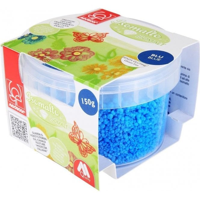 Modecor Blue Crystal Decor Isomalt 150g