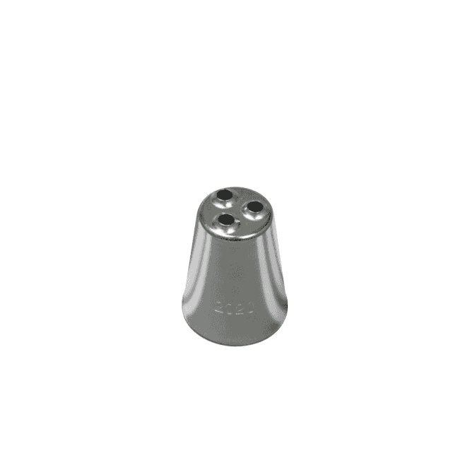 Piping Paradise No. 2020 Large Multi-Opening Piping Nozzle