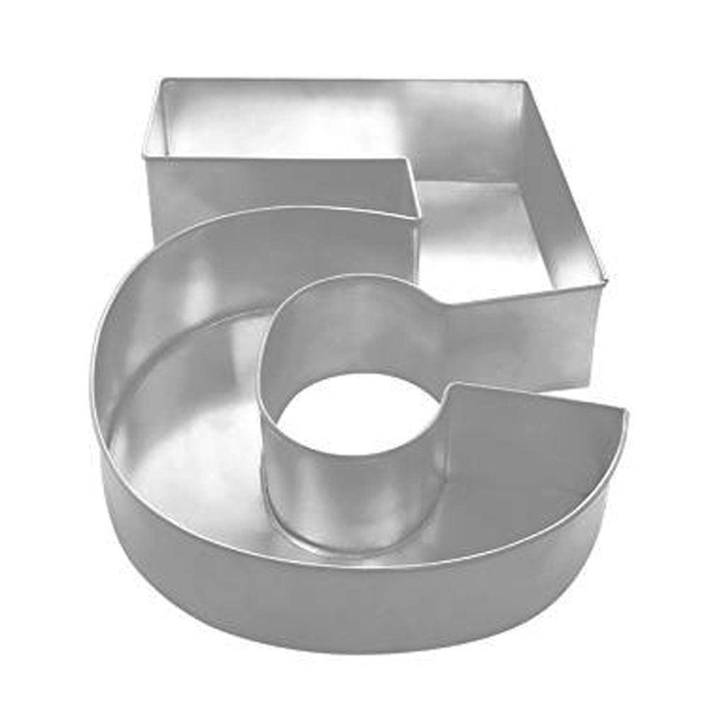 number 5 professional large baking tin cake pan. Black Bedroom Furniture Sets. Home Design Ideas