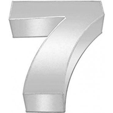 Number 7 - Large Baking Tin - Cake Pan