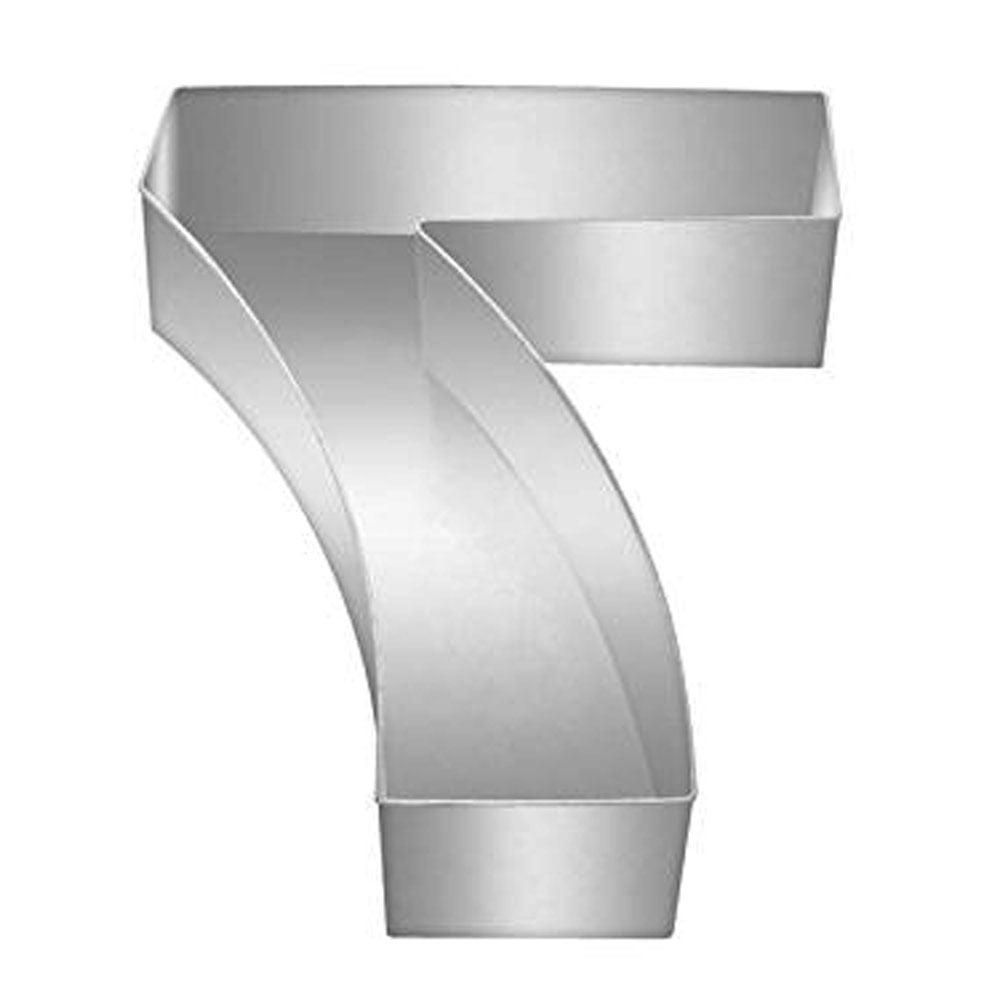 number 7 professional large baking tin cake pan. Black Bedroom Furniture Sets. Home Design Ideas