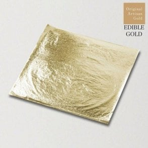 11cm Artisan Champagne Gold Deluxe Loose Leaf - Pack of 10 Sheets