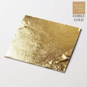 11cm Artisan Gold Deluxe Loose Leaf - Pack of 10 Sheets