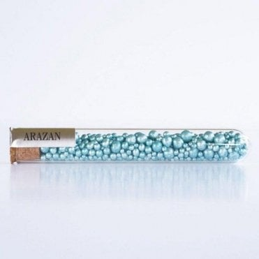 Ocean Blue - Luxury Silver Leaf Arazan Artisan Sugar Pearls - 550 pearls inside
