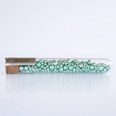 Pastel Green - Luxury Silver Leaf Arazan Sugar Pearls - 550 pearls inside