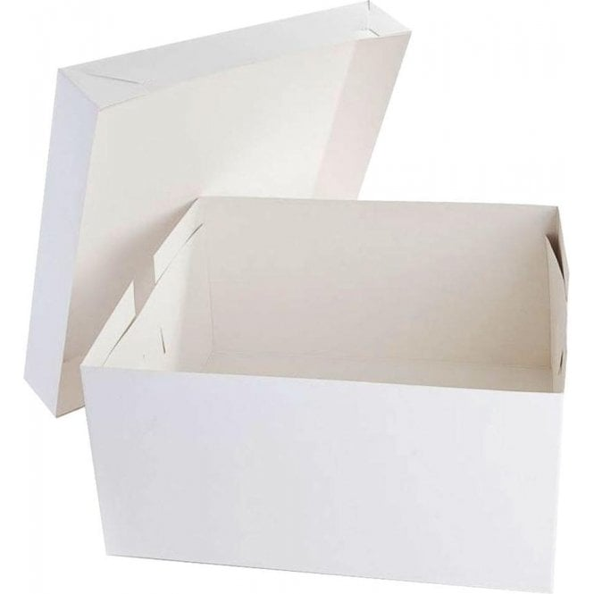 "Packaging Pro 8"" Square Cake Boxes, Base & Lids - *MULTI-BUY DISCOUNTS*"