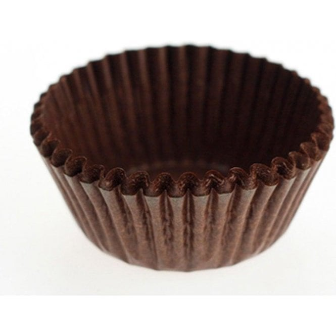 Packaging Pro Chocolate Brown Baking Cupcake Case - Pack of 486