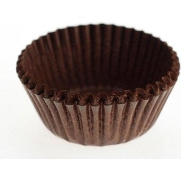 Chocolate Brown Baking Cupcake Case - Pack of 486