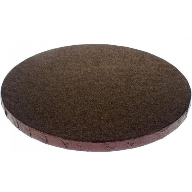Packaging Pro CHOCOLATE BROWN Foiled Cake Drum/Board 12mm Thick - Choose Your Shapes & Sizes