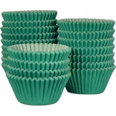 Green - Professional Quality Cupcake Cases, Bulk Pack of 500