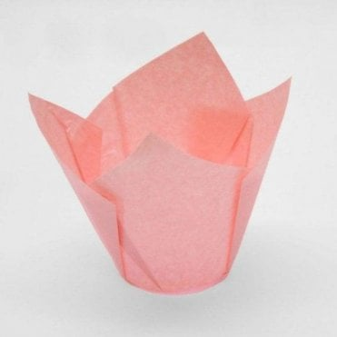 Light Pink Muffin Cases - 200 per pack