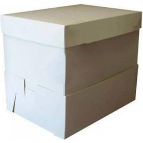"Oblong Cake Box Super Extenders 14"" High - Choose Your Size"
