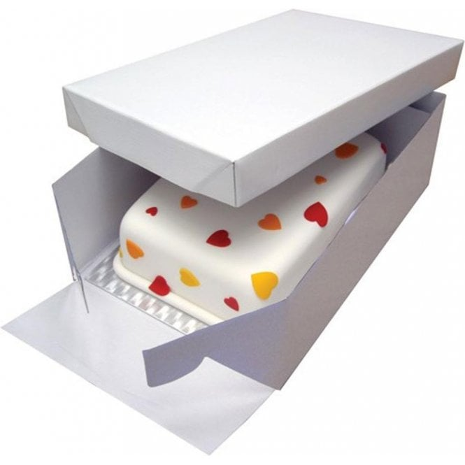 Packaging Pro Oblong, Heavy Duty Extra Strong Corrugated Cake Boxes - Choose Your Sizes