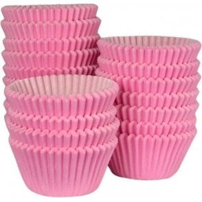 Pink - Professional Quality Cupcake Cases, Bulk Pack of 500